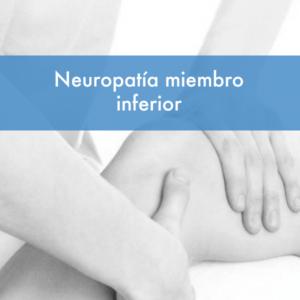 Curso neuropatia miembro inferior