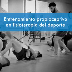 Curso de entrenamiento propioceptivo en fisioterapia del deporte en fisiodocent