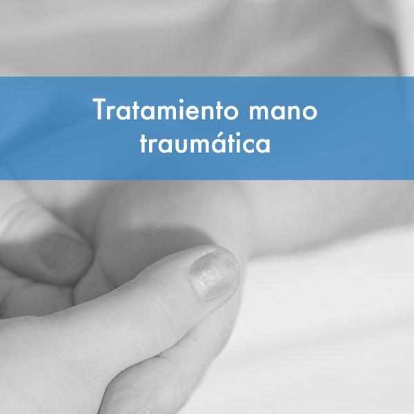 Curso tratamiento mano traumática