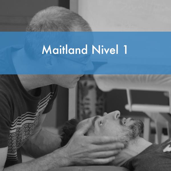 Curso Maitland Nivel 1 en Andalucía